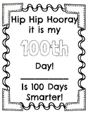 100th Day of School Activity Book!