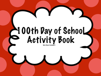 100th Day of School Activity Book