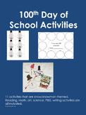 100th Day of School - Activity Bundle