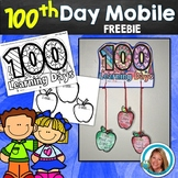 100th Day of School Activity MOBILE FREE