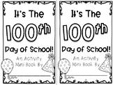 100th Day of School Activity Mini Book