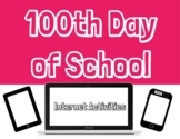 100th Day of School Activity - Online Distance Learning -