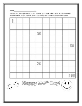 100th Day Of School Activity Pages By Lively Little