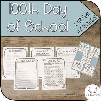 100th Day of School Activity Set