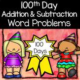 100th Day of School Math Word Problems