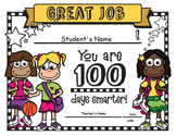 100th Day of School Award / Certificate