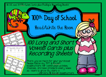 100th Day of School BUNDLE Reading, Writing, and Math!