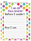 100th Day of School - Before I Couldn't ... Now I Can ...