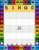 100th Day of School Bingo Cards - Full Page and Half Page Layout 3 Versions