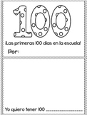 100th Day of School Booklet Spanish