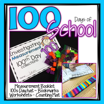 100th Day of School Booklet and Printables