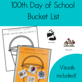 100th Day of School Bucket List Craft #stockupjuly