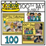 100th Day of School Bundle   Math and Science Activities  