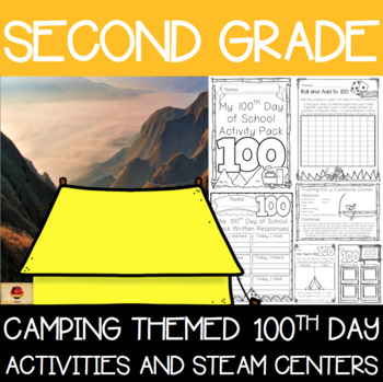 100th Day of School Camping Themed {Second Grade}