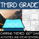 100th Day of School Camping Themed {Third Grade}
