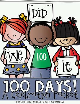 100 Days of School Celebration Packet
