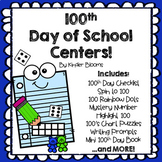100th Day of School Centers