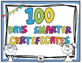 100th Day of School Certificate (Editable)