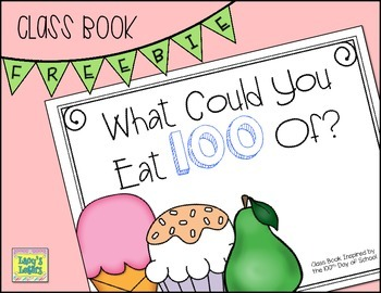 100th Day of School Class Book - Freebie