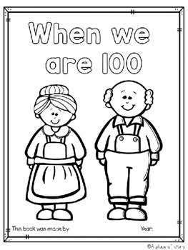 100th Day of School Class Books