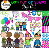 100th Day of School Clip Art