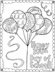 100th Day of School Coloring Pages | 8 Fun, Creative Designs