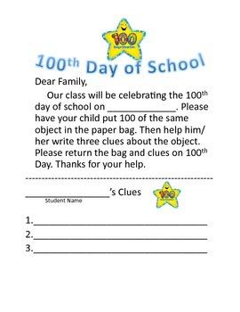 100th Day of School Common Core Unit