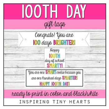 100th Day of School Cookie Treat