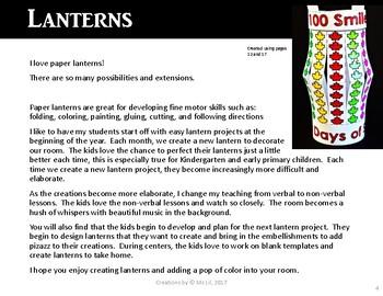 100th Day of School Craft  ::  100 Day Math  ::  Canada