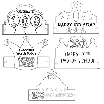 100 Days of School Craft