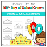 100 days of school crown teaching resources teachers pay for 100th day of school crown template