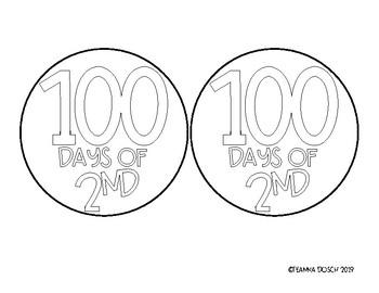 100th Day of School Crown FREEBIE