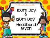 100th Day & 120th Day of School Crown Glyph
