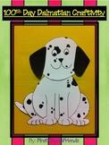 100th Day of School Dalmatian Craftivity