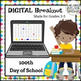 100th Day of School - Digital Breakout