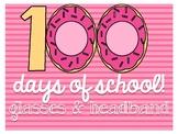100th Day of School Donut Glasses!