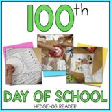 100th Day of School ELA + Math Printables & Activities  - CCSS Grade 3