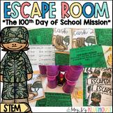 100th Day of School Escape Room