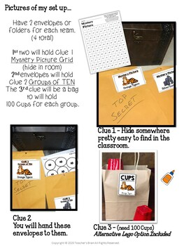 100th Day of School Activities Escape Room | PRIMARY