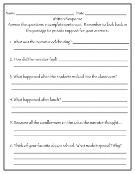100th Day of School FLUENCY and COMPREHENSION FREEBIE