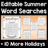 Fall Coloring Pages -- 6 Coloring Sheets with Editable Text Boxes!
