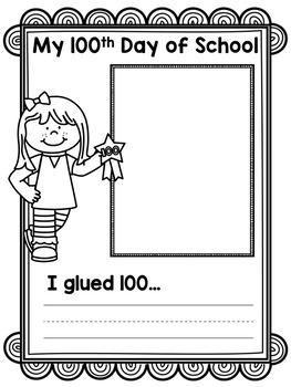 100th Day of School { FREEBIE }