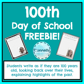 100th Day of School FREEBIE