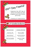 100th Day of School Fiesta - Math and Literacy Activities