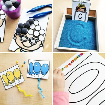100th Day of School Fine Motor Activities