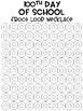 100th Day of School Froot Loop Mat Freebie {Necklace} {Fruit Loop}