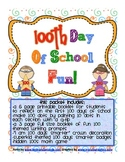 100th Day of School Fun: Activities for the Classroom