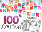 100th Day of School Fun {FREE}