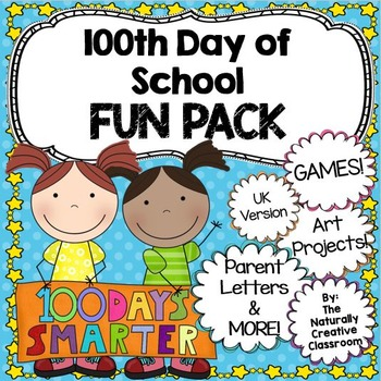 100th Day of School Fun Pack UK