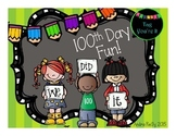 100th Day of School Fun for K-1